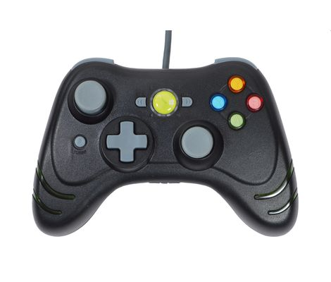 Xbox 360 Black Wildfire Turbo Wired Controller Preview