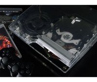 View Item PS3 XCM Cyberbot case for PS3 Slim