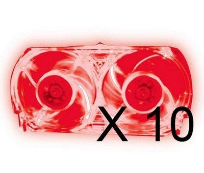 View Item Xbox 360 Talismoon Red Whisper Fan Bundle of 10