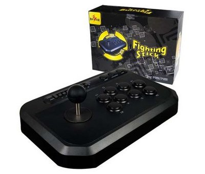 View Item PS2/PS3 Fighting Arcade Stick Controller Turbo Joystick