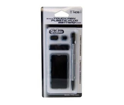 View Item DSI Metallic Touch Pen Plastic Plug & Battery Black
