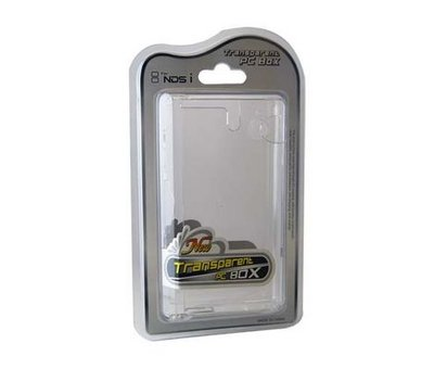 View Item DSI Clear Crystal Case for NDSi (Generic)