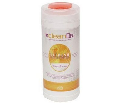 View Item cleanDr Fresh Wipes