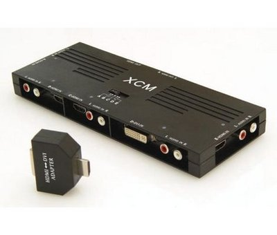 View Item HDMI/DVI Switcher (5 inputs with phono output)