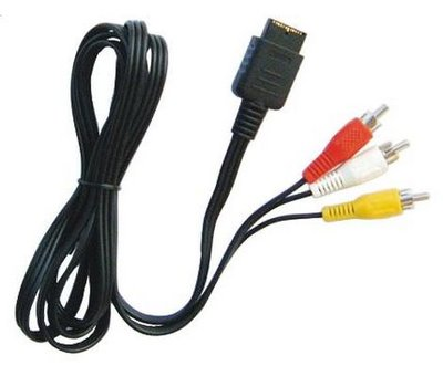 View Item SNES/Gamecube/N64/GC Composite AV Cable