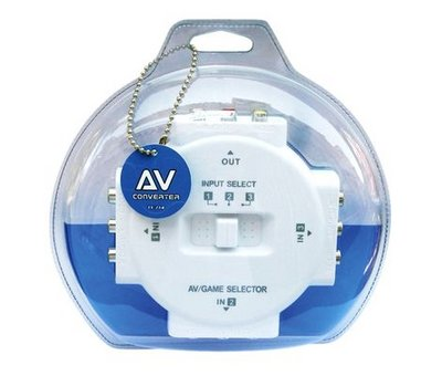 View Item AV Multi Box (3 Way Composite Switch)