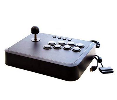 View Item Arcade Fighting Stick Controller Joypad (PS2/PS3/PC)
