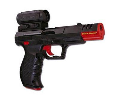View Item Joytech Sharp Shooter 2 100 Hz Light Gun (PS2)
