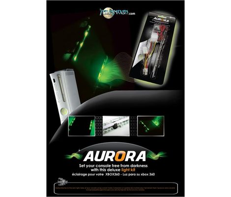 Xbox 360 Aurora LED Lights (Green) Preview