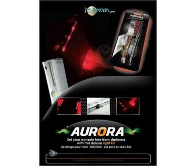 View Item Xbox 360 Aurora LED Lights (Red)