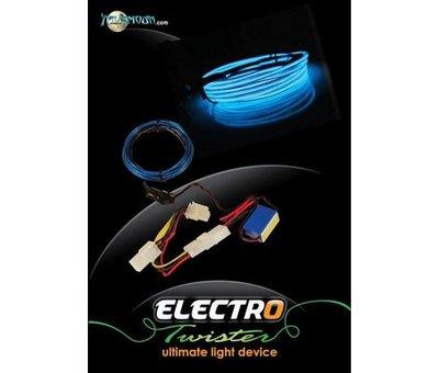 View Item Xbox 360 Electro Twister Lightning Kit (Blue)