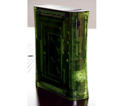 View Item Xbox 360 Full Replacement Case Shell (Halo Green)