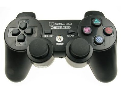 View Item Playstation 3 Wireless Controller Joypad with Rumble/Vibration
