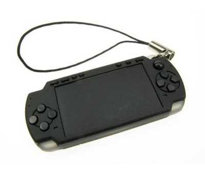 View Item PSP Slim Keyring Strap (Black)