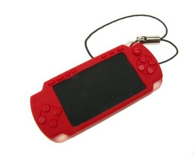 View Item PSP Slim Keyring Strap (Red)