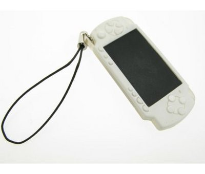 View Item PSP Slim Keyring Strap (White)