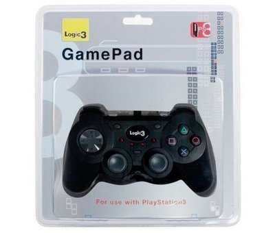 View Item PS3 Wired USB Joypad (Logic 3)
