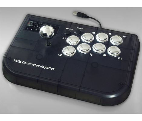 XCM Dominator Fighting Joystick (PS3/PC) Preview