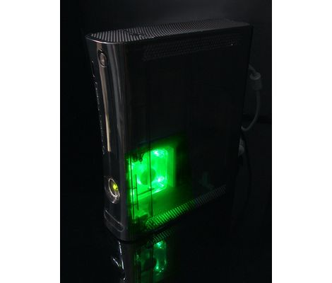 Xbox XCM 360 Green Core Cooler (Add-on Fan) Preview