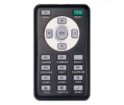 View Item Hais PS2 Slimline DVD Remote Control