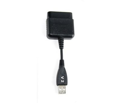 View Item Playstation 2 to PS3 Controller Adapter (PS2 to PS3 w/ rumble)