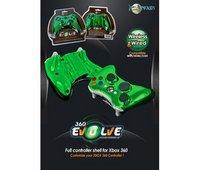 Xbox 360 Evolve Full Controller Shell (Chrome Green)