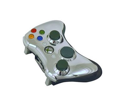 View Item Xbox 360 Evolve Full Controller Shell (Chrome Silver)