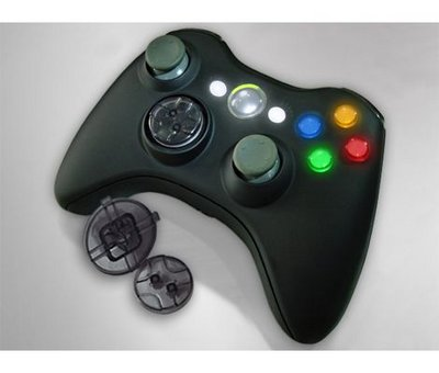View Item Xbox XCM 360 Wireless Controller Shell with Deep D-Pad (Black)