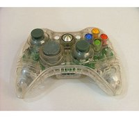 Xbox 360 Fantasy360 Wireless Controller Case (Crystal Clear)