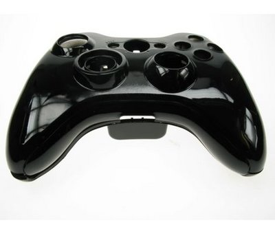 View Item Xbox 360 Black Replacement Wireless Controller Shell