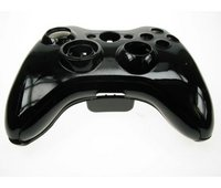 Xbox 360 Black Replacement Wireless Controller Shell