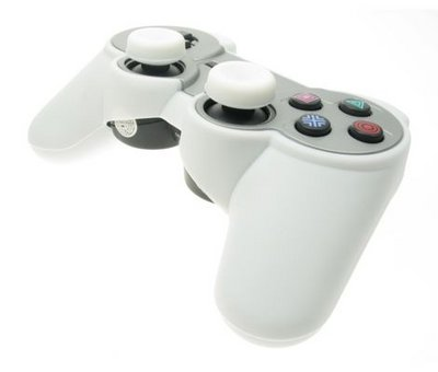 View Item Playstation 3 Sixaxis Silicon Controller Cover (White)