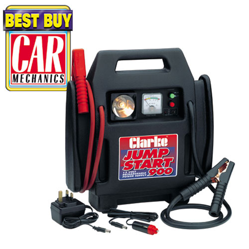 V Car Battery Charger Booster Compact Jumpstart Engine Starter