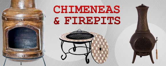 Chimeneas and Firepits