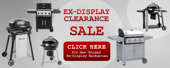 Ex-Display Barbecue Clearance Sale