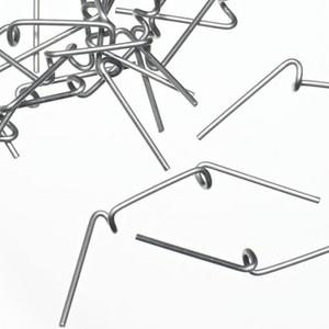 Stainless Wire Glass Clips x 100 for Greenhouses Preview