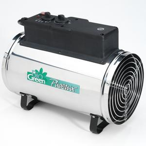 Bio Green 2.8kW Electric Phoenix Greenhouse Heater Preview