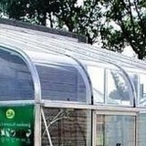 Curved Greenhouse Plexiglass 610x440mm Preview
