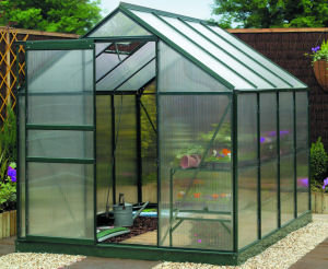 Gardman 8x6 Polycarbonate Greenhouse with Base Preview