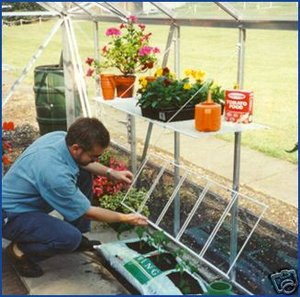 Greenhouse Seed Tray Shelf - Perfect for Seeds Preview