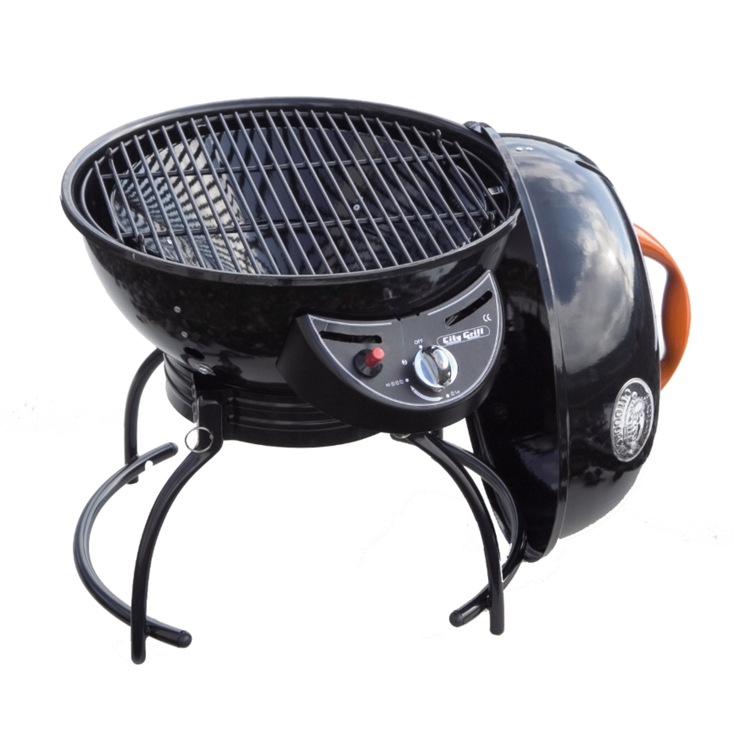 new city grill portable gas kettle barbecue from. Black Bedroom Furniture Sets. Home Design Ideas
