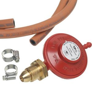 Gas Regulator, Hose & Clips Preview