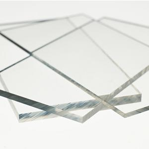 Clear Solid Polycarbonate Sheet, A4 Size, 4mm thick Preview
