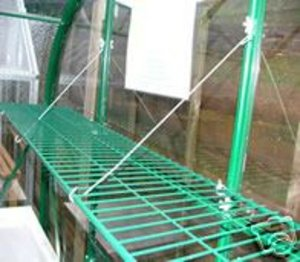 15 inch GREENHOUSE SHELF - Foldaway SPEEDSHELF - Green Preview