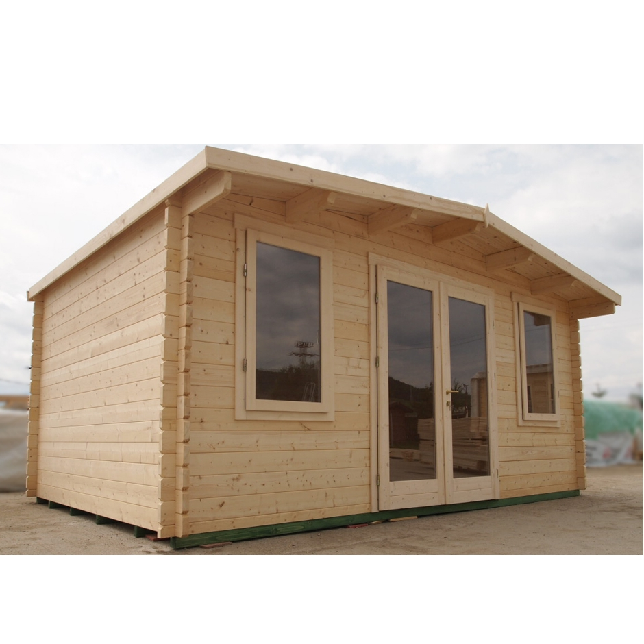 5m X 3.3m 16ft X 10ft York Log Cabin Garden Room Home