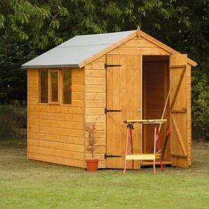 6x8 Pent Double Door Shed Preview