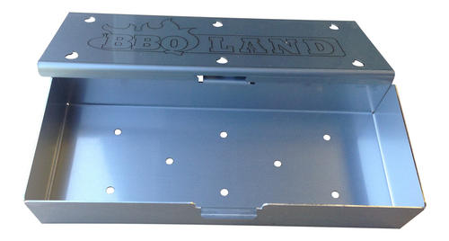 stainless steel wood chip smoke box. Black Bedroom Furniture Sets. Home Design Ideas