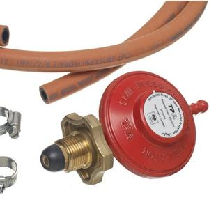 Gas Regulator with Handwheel, Hose & Clips (2107H) Preview