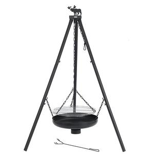 tepro melrose heavy duty tripod charcoal bbq firepit. Black Bedroom Furniture Sets. Home Design Ideas