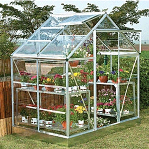 Palram Silverline 4ft x 6ft Greenhouse Preview